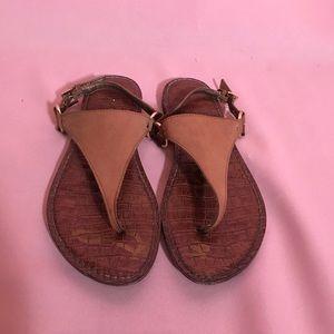 $85 Sam Edelman suede leather Greta sandals Sz 7.5